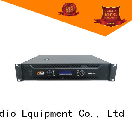 series power mid KaiXu Brand best power amps for live sound manufacture
