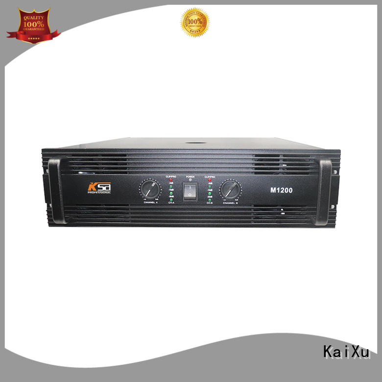 professional stereo amp class for club