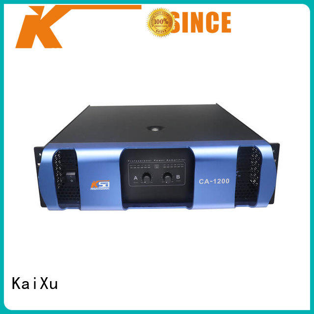 KaiXu customized small amplifier high quality for club