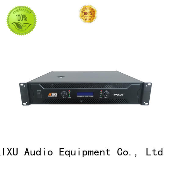 KaiXu professional hifi power amps mid channal
