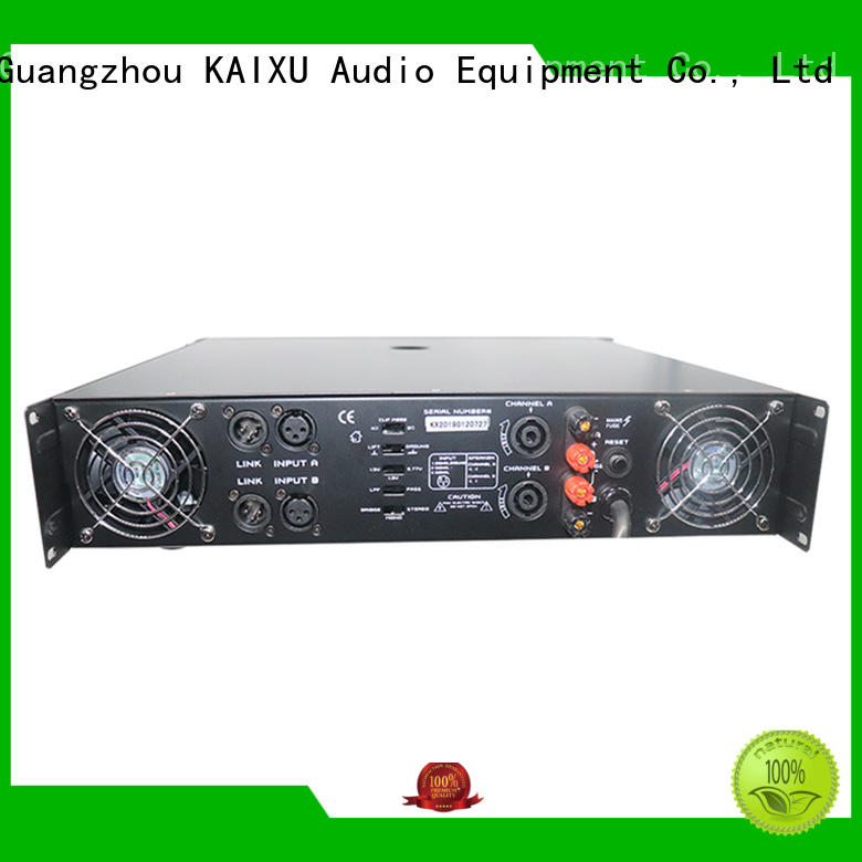 KaiXu stereo amplifier high quality for stage