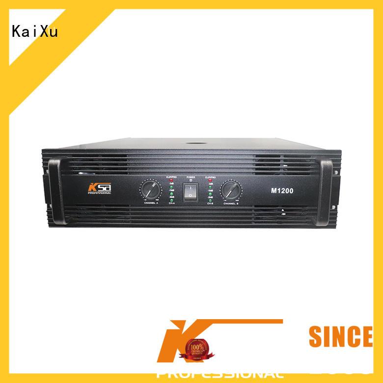 karaoke transformer audio music amplifier KaiXu Brand company