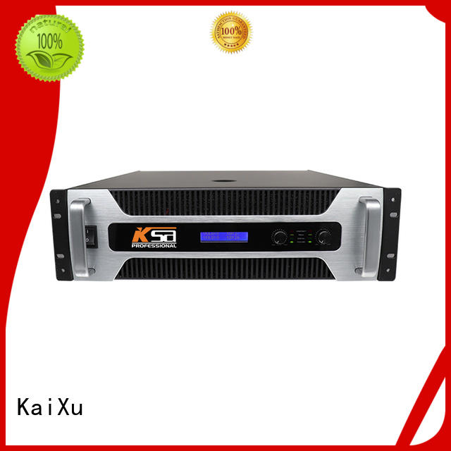 KaiXu performance pro power amplifier strong for lcd