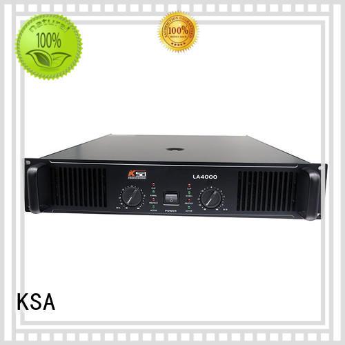 KSA best price china power amplifier energy-saving for ktv