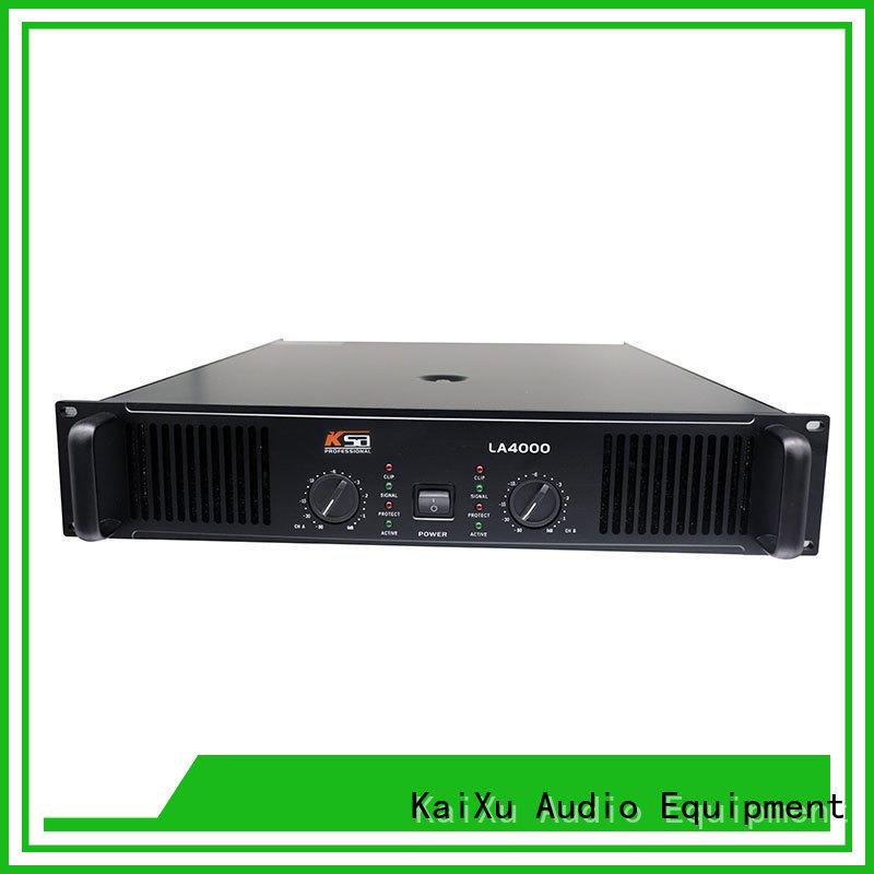 KSA popular best audio amplifier factory direct supply for bar