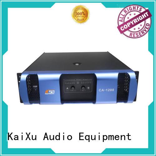 KSA class audio amplifiers supplier for night club