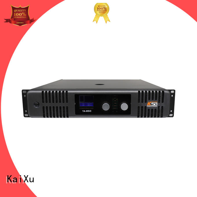 professional simple power amplifier professional karaoke equipment KaiXu