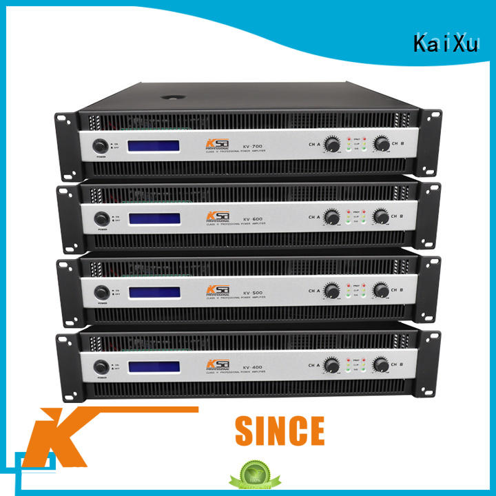 KaiXu cheapest hifi power amps stablity equipment