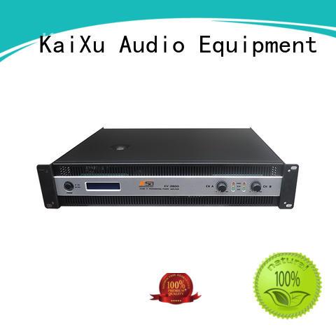 KSA stereo power amp high quality dj sound