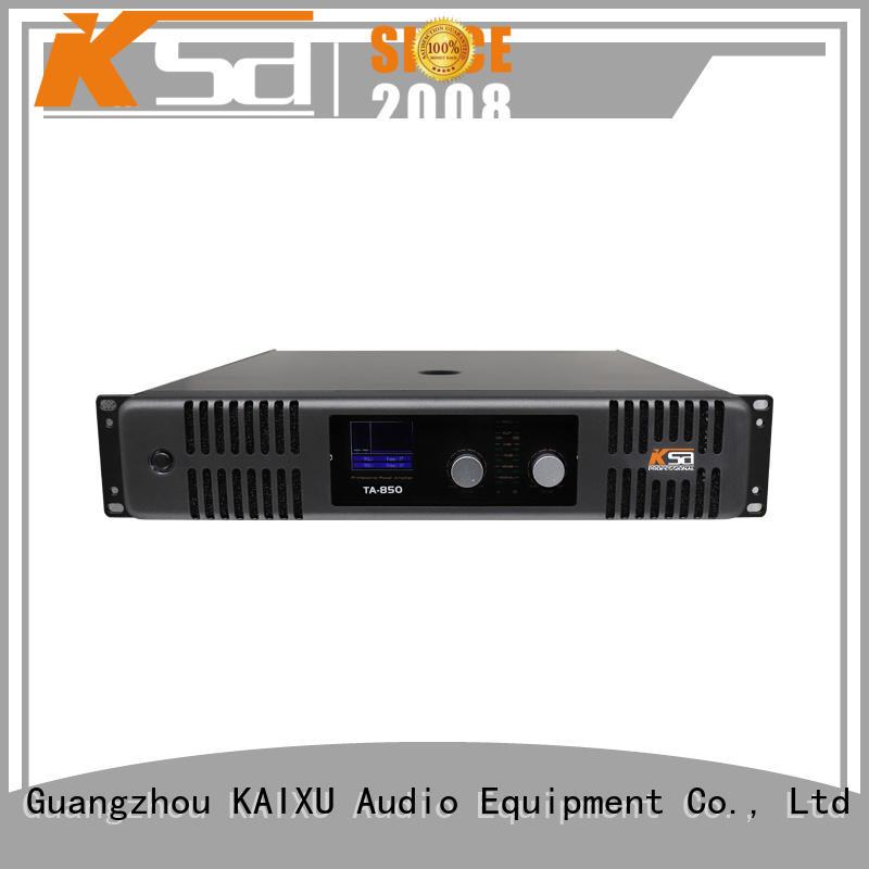 KSA karaoke power amplifier sound