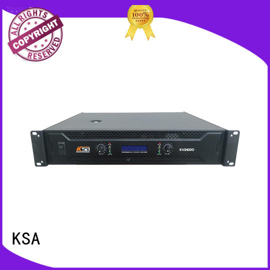 KSA stable power amplifier china low series