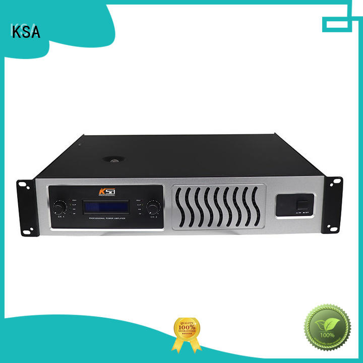 KSA audio amplifier power class equipment
