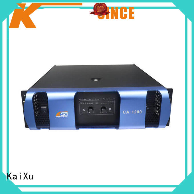 KaiXu cheap amplifier for home speakers live sound subwoofer