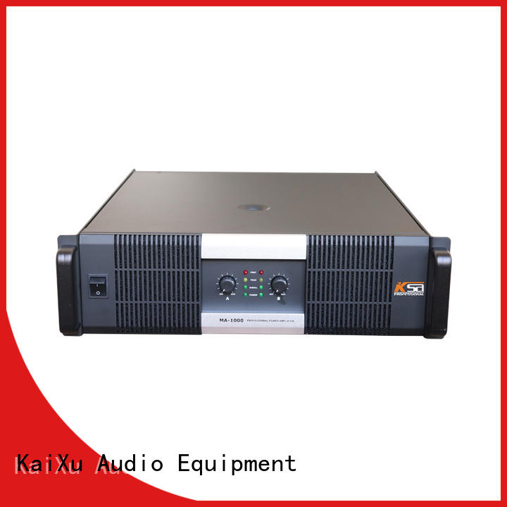 KSA reliable best stereo amplifier company for night club