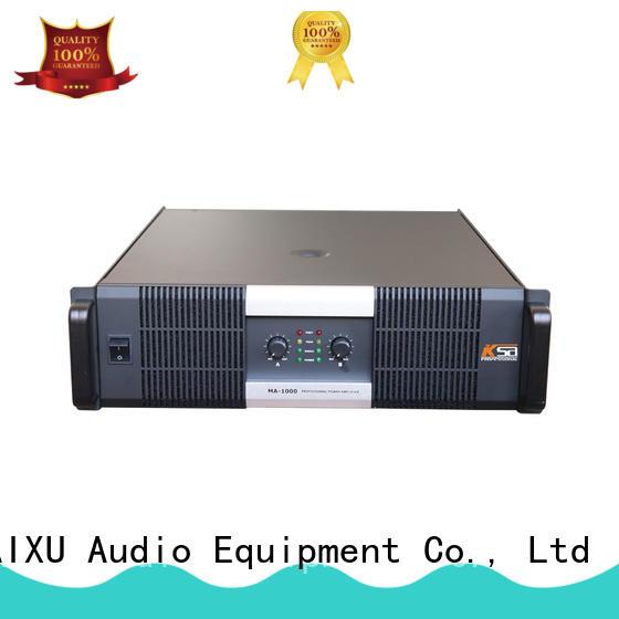 KaiXu professional power amplifier electronics sub-woofer for ktv