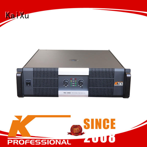Class H 1000W professional audio power amplifier with transformer for outdoor