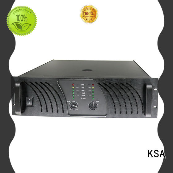 KSA performance power amplifier class h for speaker