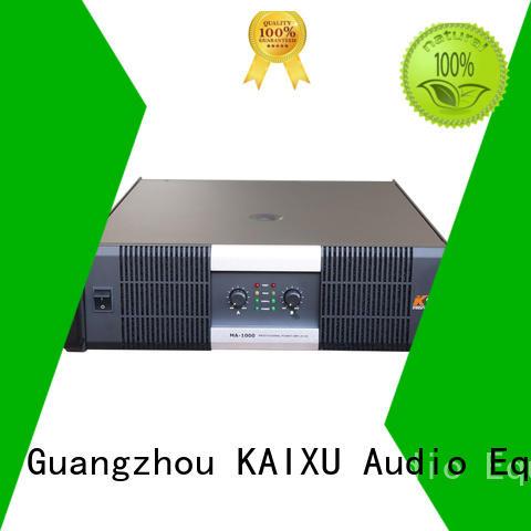 professional 2ch power amplifier power audio KaiXu