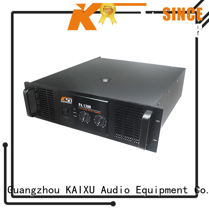 1300W PA system best value high power amplifier manufacturers