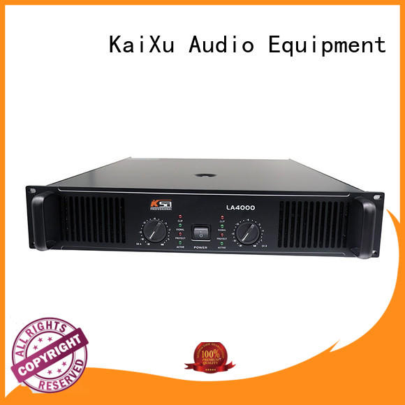 KSA high-quality best power amplifier for home theater bulk production outdoor audio