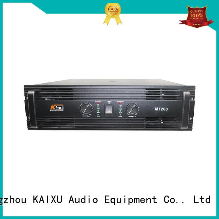 power 2ch power amplifier amplifier audio KaiXu