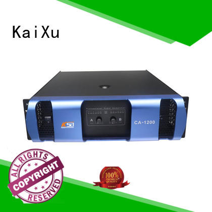 KaiXu amplifier for home speakers live sound for night club