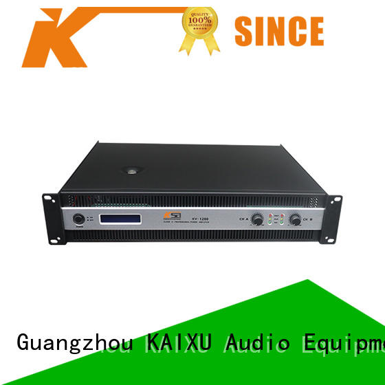 High stablity professional power amplifier KV1200 watts cheaper price factory sales