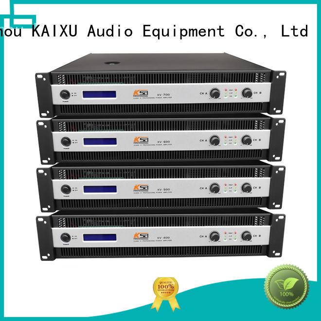 KaiXu cheaper best value power amplifier kv