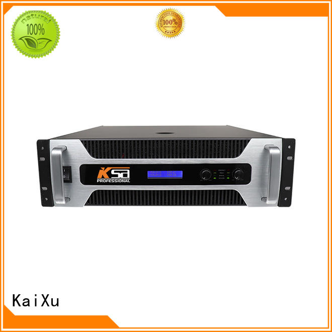 KaiXu performance home audio power amplifier amplifier for multimedia