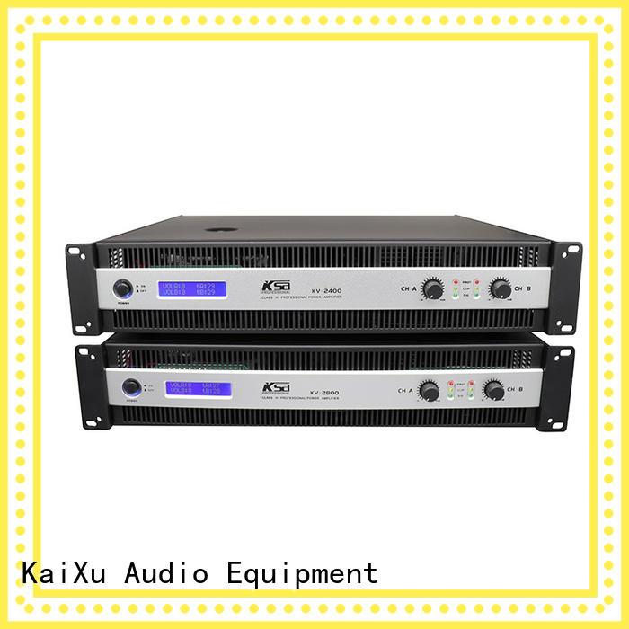 KSA precision power amplifier best supplier for night club