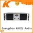 KSA performance power amplifier class h for speaker