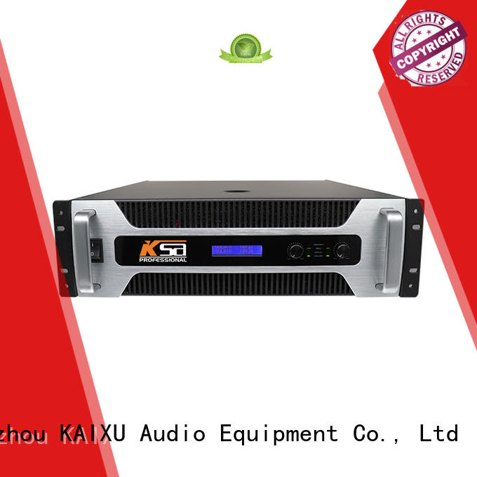 KSA stereo home theatre amplifier professional for lcd