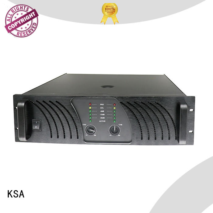 KSA factory price best dj amplifier factory direct supply for speaker