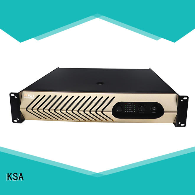 KSA china power amplifier supply for promotion