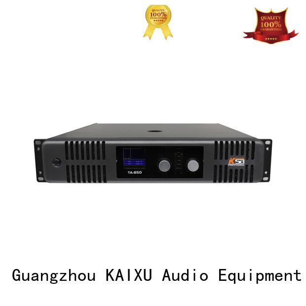 KaiXu Brand design music equipment hifi audio amplifier manufacture