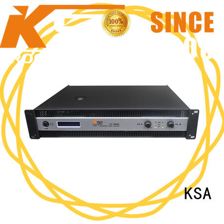 KSA amplifier power supply for promotion