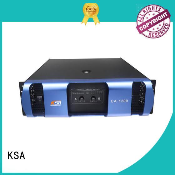 KSA small amplifier factory direct supply for ktv