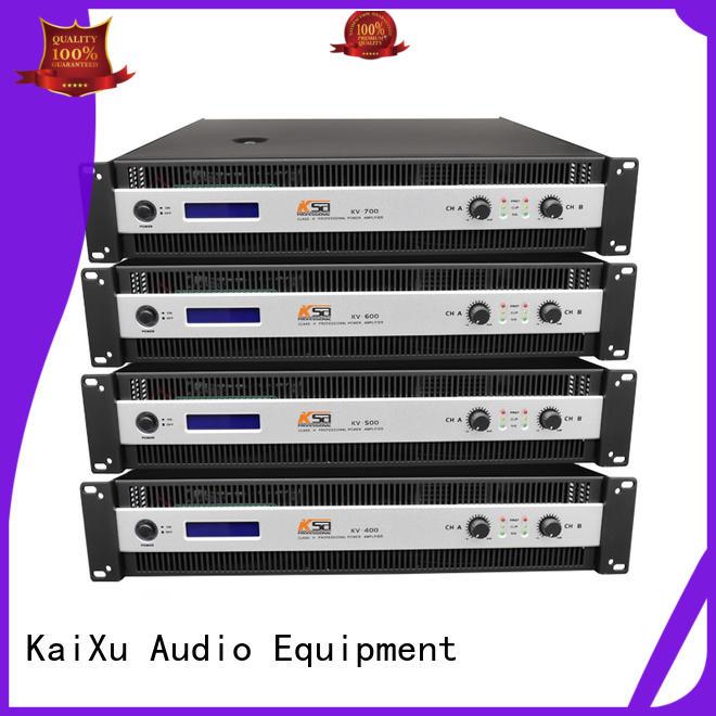 KSA cheapest stereo power amp class kv