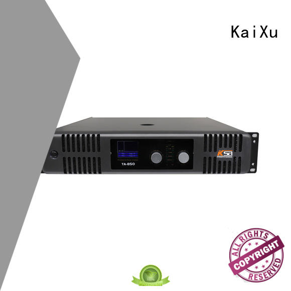 Good design music sound karaoke equipment professional amplifier for KTV use