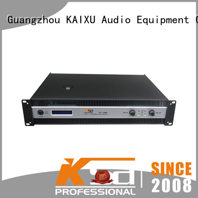 kv home theater power amplifier systems dj sound KaiXu