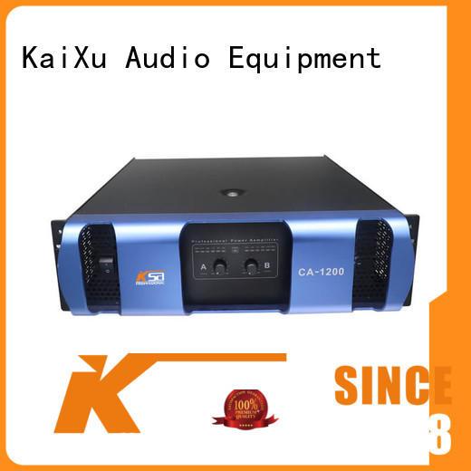 KSA amp for home live sound subwoofer