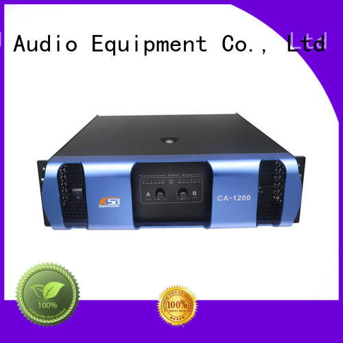 KSA Factory CA1500 watts at 8ohms best power amplifier for live sound