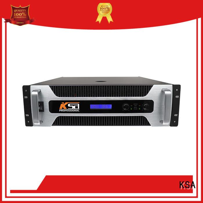 KSA audio power amplifier professional for speaker