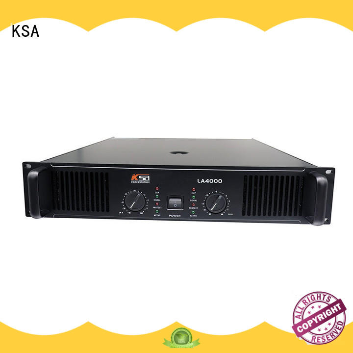 KSA professional china power amplifier class series outdoor audio