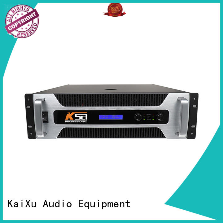 KSA analog audio power amplifier professional for stage