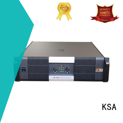 KSA professional stereo amp class outdoor audio