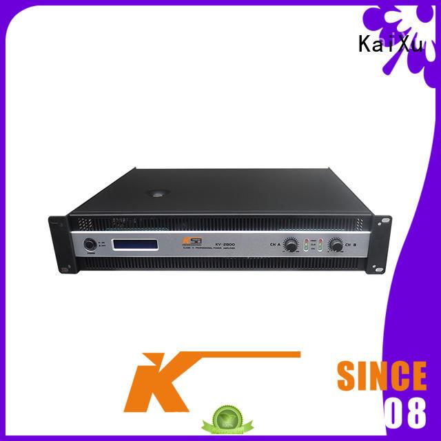 KaiXu cheaper power amp home theater stable stereo audio