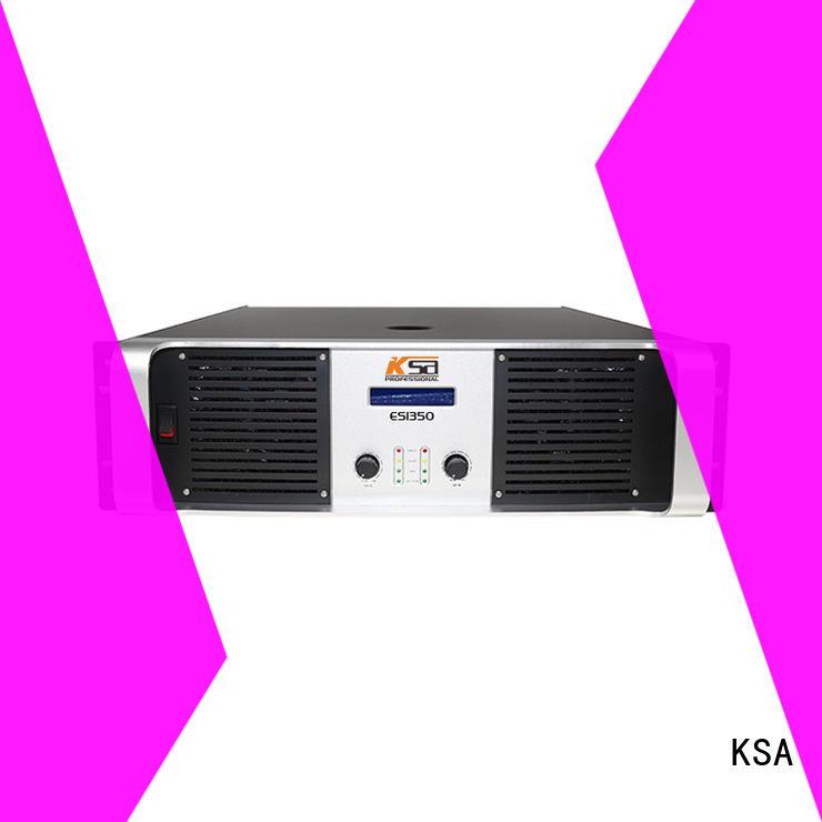 KSA quality china amplifier manufacturer for multimedia