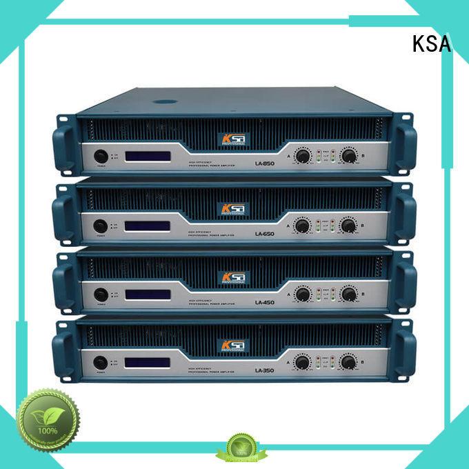 KSA best price stereo power amplifier energy-saving for ktv