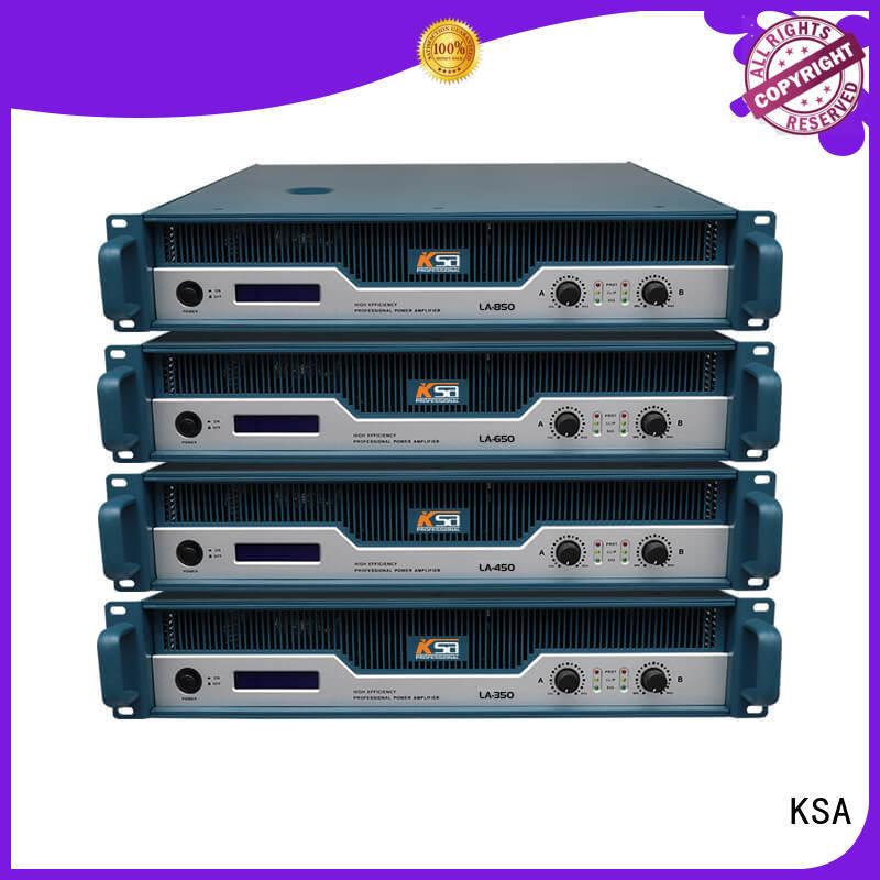 KSA best power amplifier for home theater class series transistor